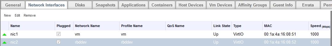 vm nic 10g - Users - Ovirt List Archives